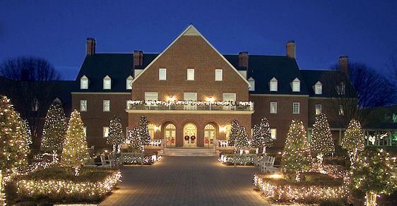 I M So Excited For The Christmas Season Founders Inn Is Beautiful After Grand Illumination