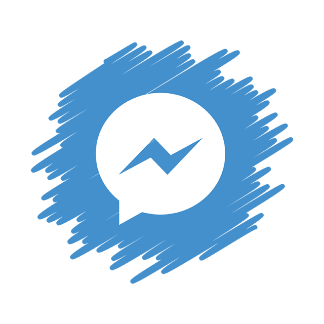 Messenger Social Media Icon, Social, Media, Icon PNG and