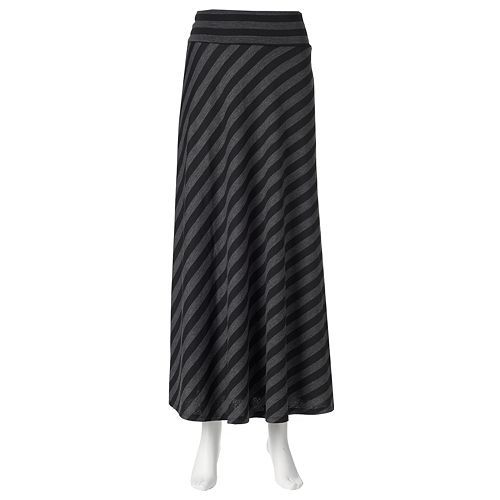 19b300868a AB Studio Maxi Skirt - I bought a couple of similar maxi skirts for $12 at  Kohl's back in the fall. Absolutely love how they fit and they are so comfy  even ...