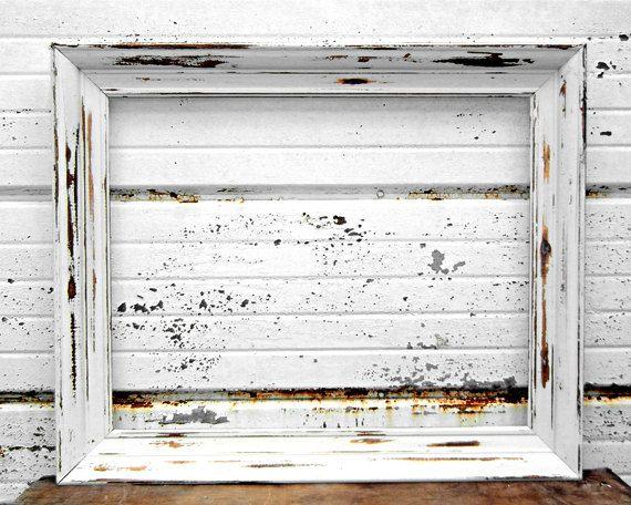 Niedlich Rustic Picture Frames 16x20 Galerie - Badspiegel Rahmen ...