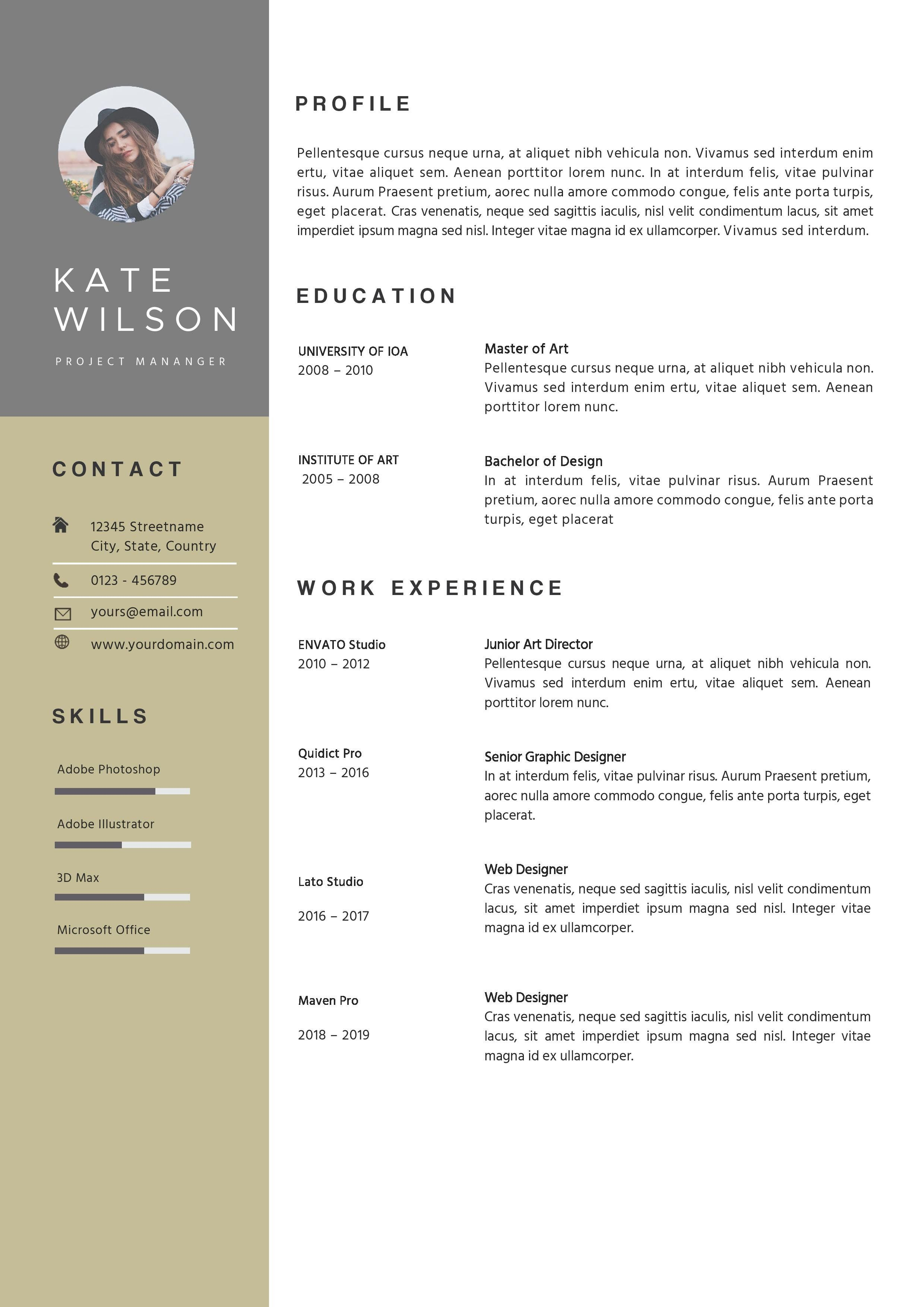 Resume Template References Pages Resume Template Templates References Page