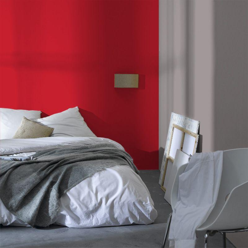 Peinture rouge 4murs pour la cuisine | Peinture | Papier peint ...