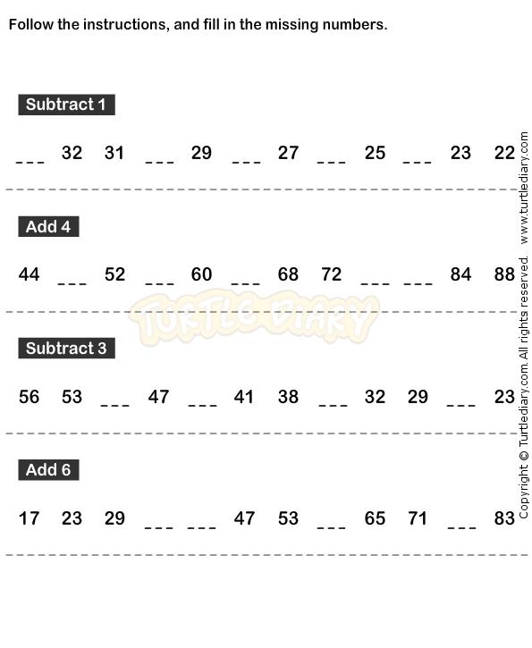 Number Sequence Worksheet 6 math Worksheets kindergarten – Sequencing Math Worksheets