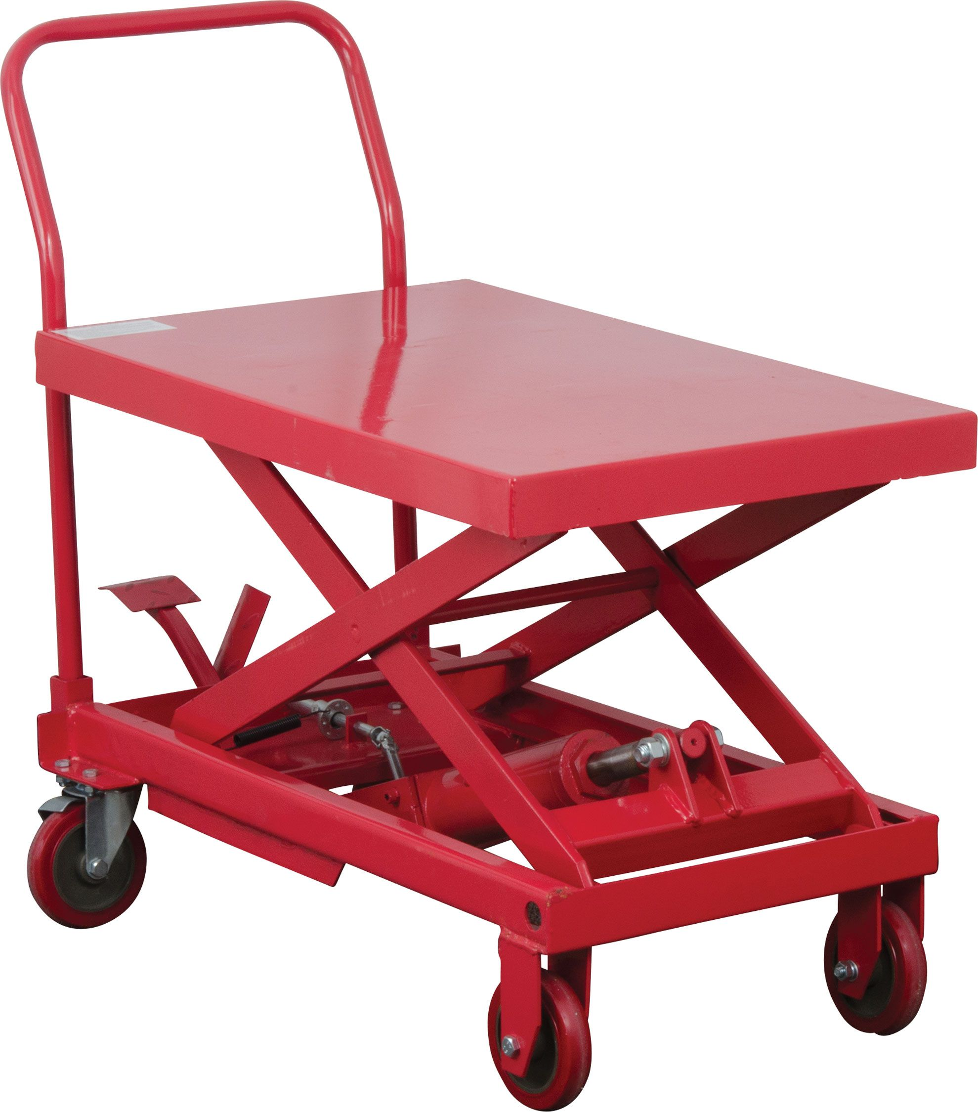 img surface lift hand table roll lb hydraulic