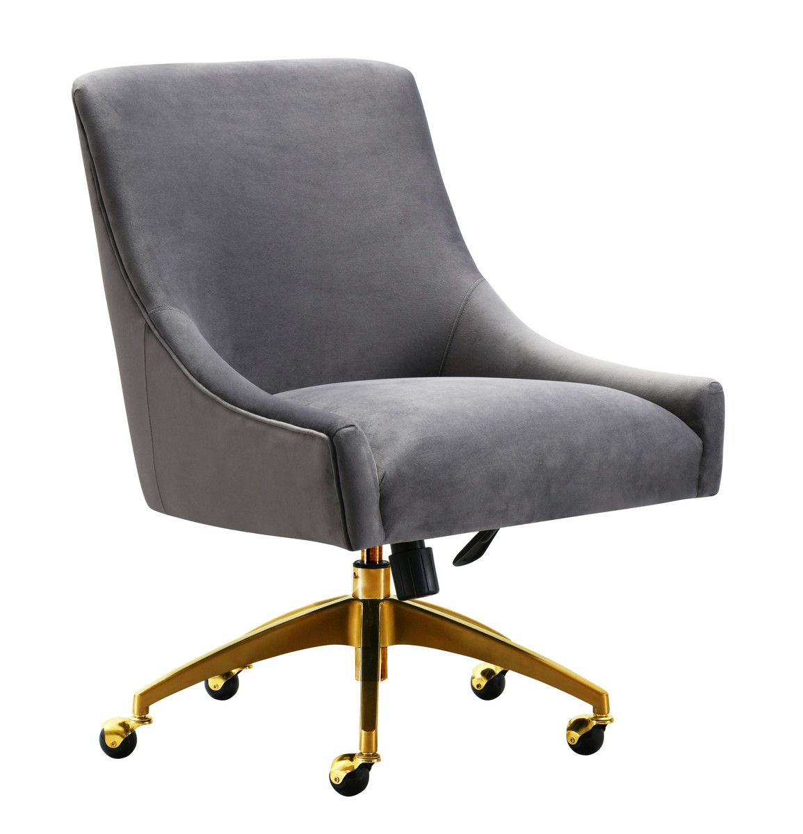 Beatrix Grey Office Swivel Chair Swivel Office Chair Modern Office Chair Office Chair
