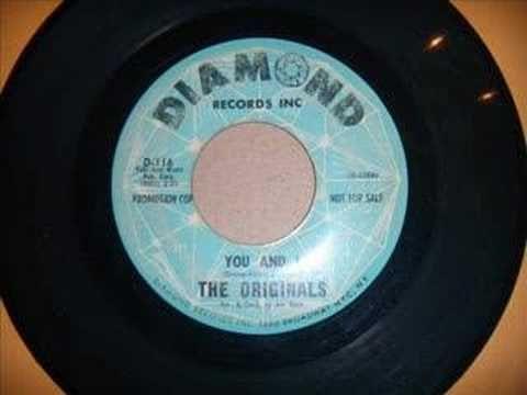 Rare doo wop - You and I - The Originals - YouTube | Music i