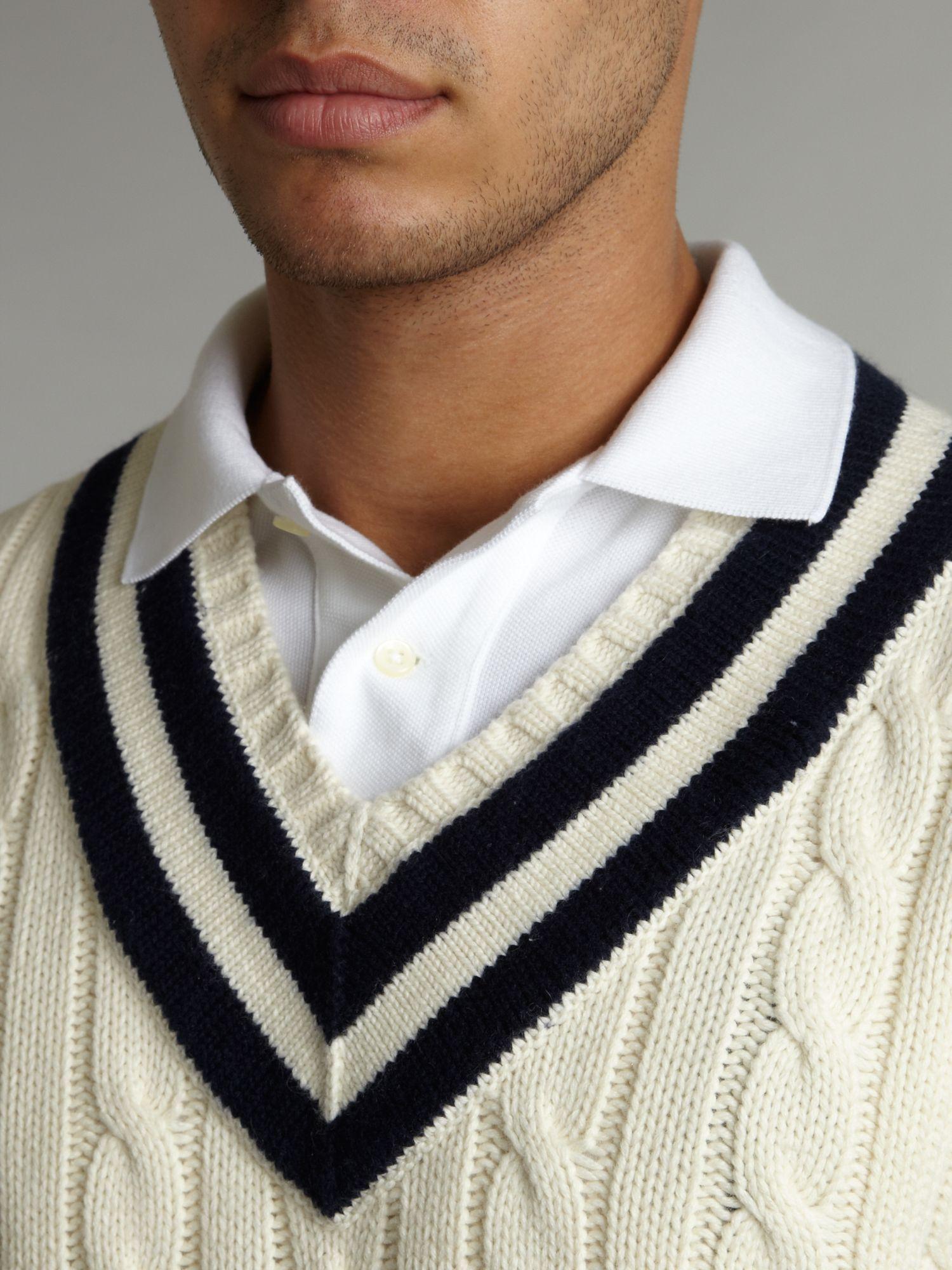 lightweight polo shirts ralph lauren cotton cable sweater