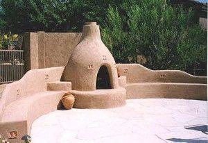I Really Like The Adobe Look Patio Fireplace Backyard Fireplace Outdoor Fireplace Patio