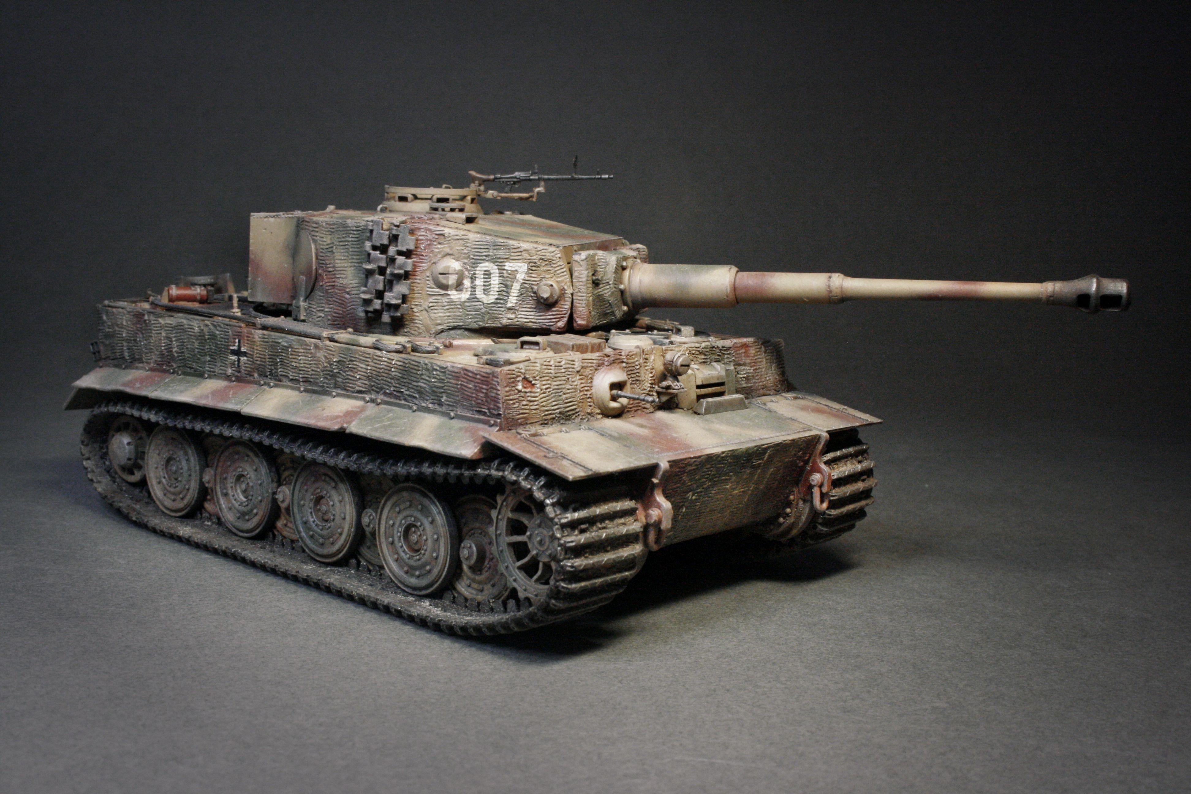 Pin auf Heer/SS(afv) Pz Kpfw Vl Tiger