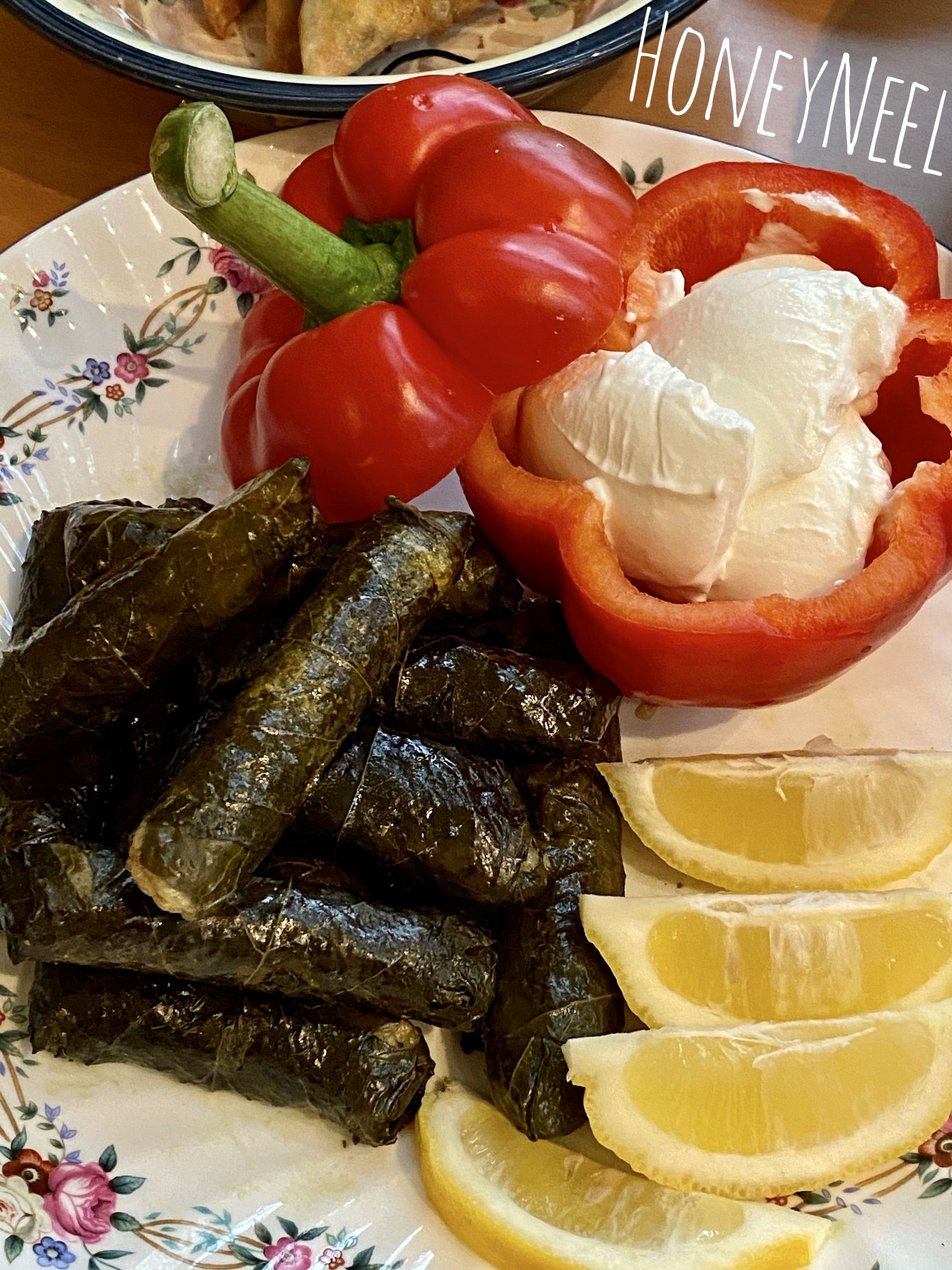 Yummy Recipe For Veggie Stuffed Grape Leaves Yallanji Tadsty Easy Healthy Veggie Dolmas Please Subs Best Food Ever Delicious Healthy Stuffed Grape Leaves