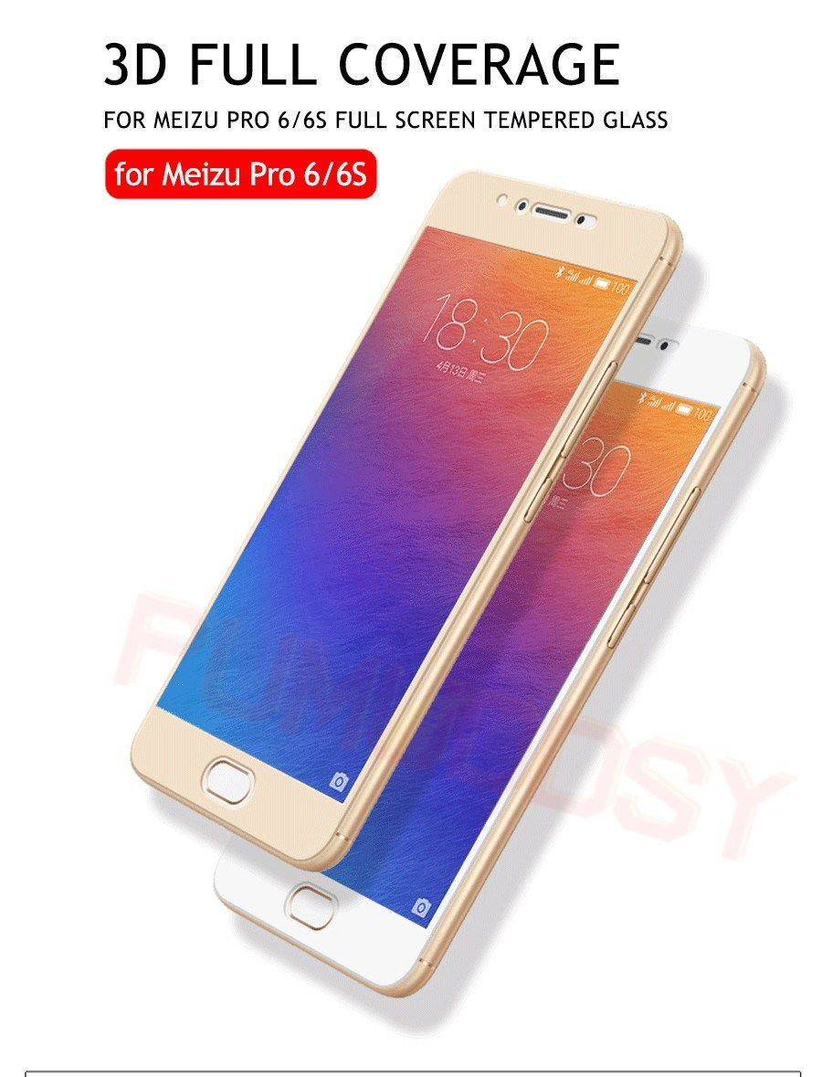 Premium Full Cover Protective Tempered Glass For Meizu M6 Mx6