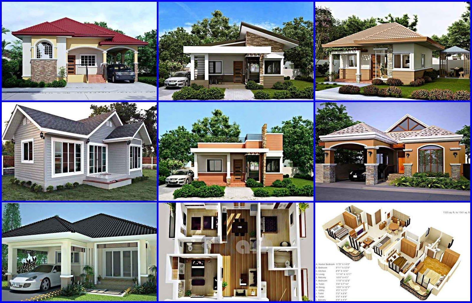 Gambar Denah Dan Desain Rumah Minimalis Type 45 3 Kamar Tidur