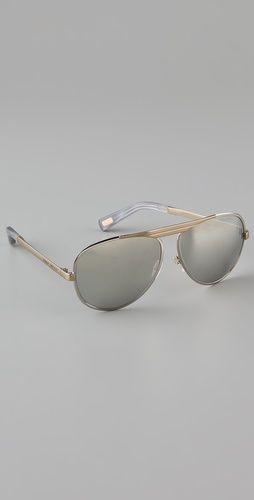 Marc Jacobs Sunglasses Mirror Aviator Sunglasses
