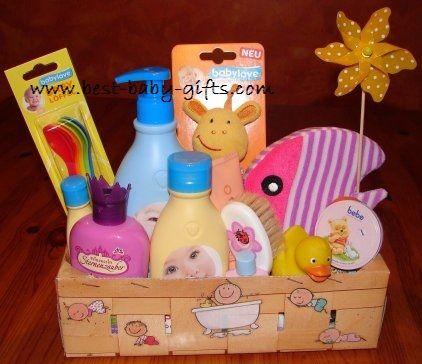 Superb Baby Shower Gift Basket