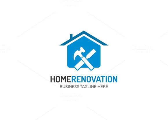 Home Renovation Logo By At Graphicsauthor Logo