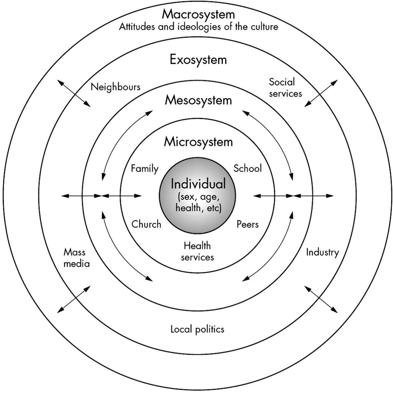 Bronfenbrenner S Ecological Model