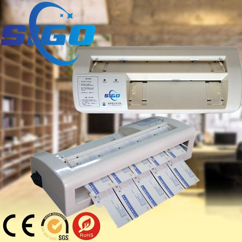 Laminated Business Card Cutter Cutting Machine Price