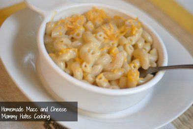 Recipes for Homemade Mac & Cheese, Beef & Veggie soup and more!