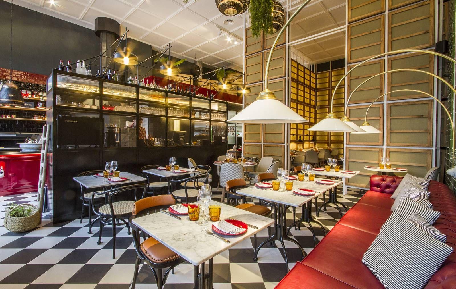 Lazzaroni, un restaurante italiano que nos transporta a otra época