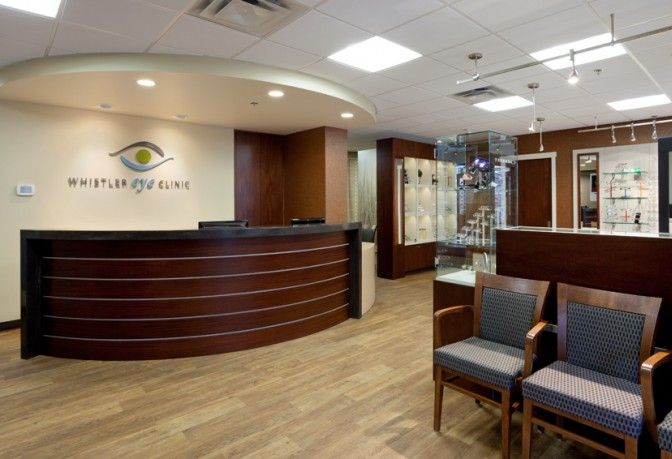 Whistler Eye Clinic Barbara Wright Design Clinic Interior Design Doctor Office Design Clinic Design