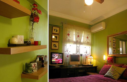 green bedrooms interesting green painted rooms cheap ideas about