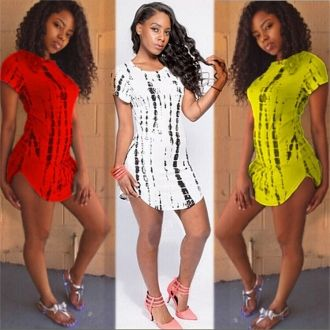 Buy Discount Red&White&Yellow Short Sleeves Sexy Clubwear Online for Cheap SJ-6051.jpg http://www.lover-fashion.com/2015-New-Clubwear-c552.html