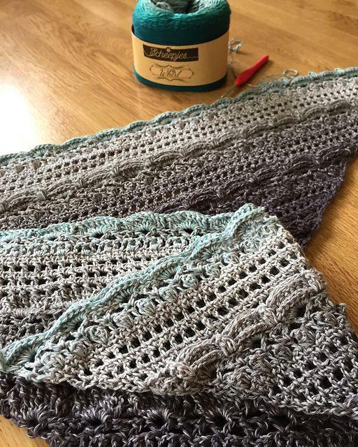Crochet Shawl / Wrap - Lost in Time Crochet Wrap – Free Pattern ...