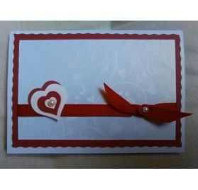 Réalisez une carte avec un coeur en relief pour la St Valentin : Marie Alice