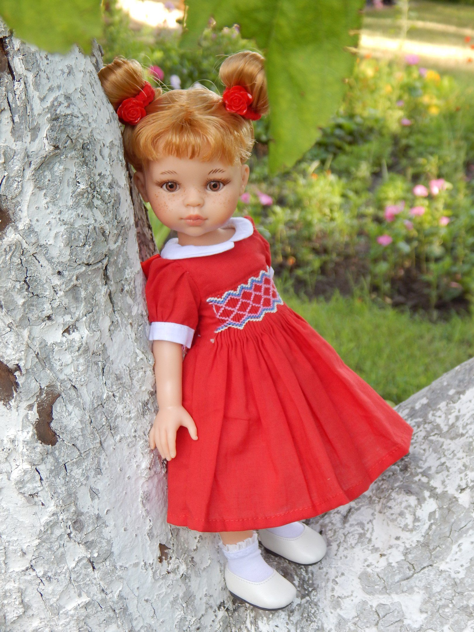 Испанские куклы Paola Reina   Vestido para muñeca de ganchillo, Vestidos niña crochet, Ropa nancy