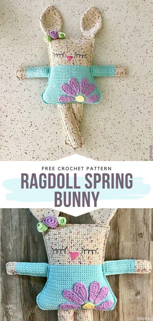 How to Crochet Ragdoll Spring Bunny