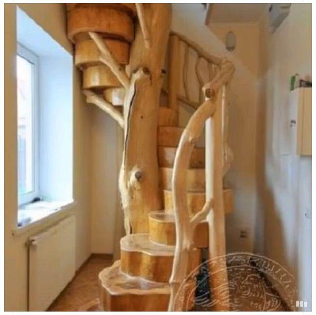 Escaleras Rusticas De Interior. Awesome F With Escaleras Rusticas De ...