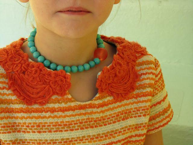 no big dill: Fleur D'Orange Tutorial: Adorable Girls Keyhole Dress