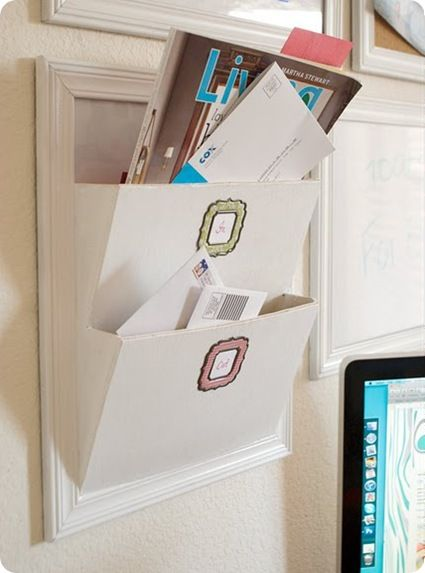 Diy Pottery Barn Letter Bin I Have The Ones From And Love Them Little Did Know That Could Actually Made Very Smart