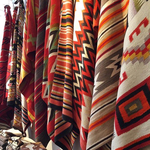 Navajo rug heaven at @shiprocksantafe in Santa Fe. #navajorugs #rugs #santafe #santafegalleries #shiprocksantafe #rugheaven #handwoven