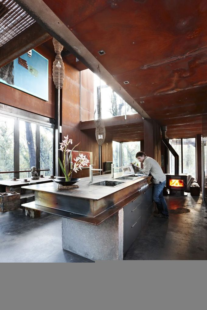 beautiful sustainable and bushfire proof home rises from the ashes articles  advice service central also rh pinterest
