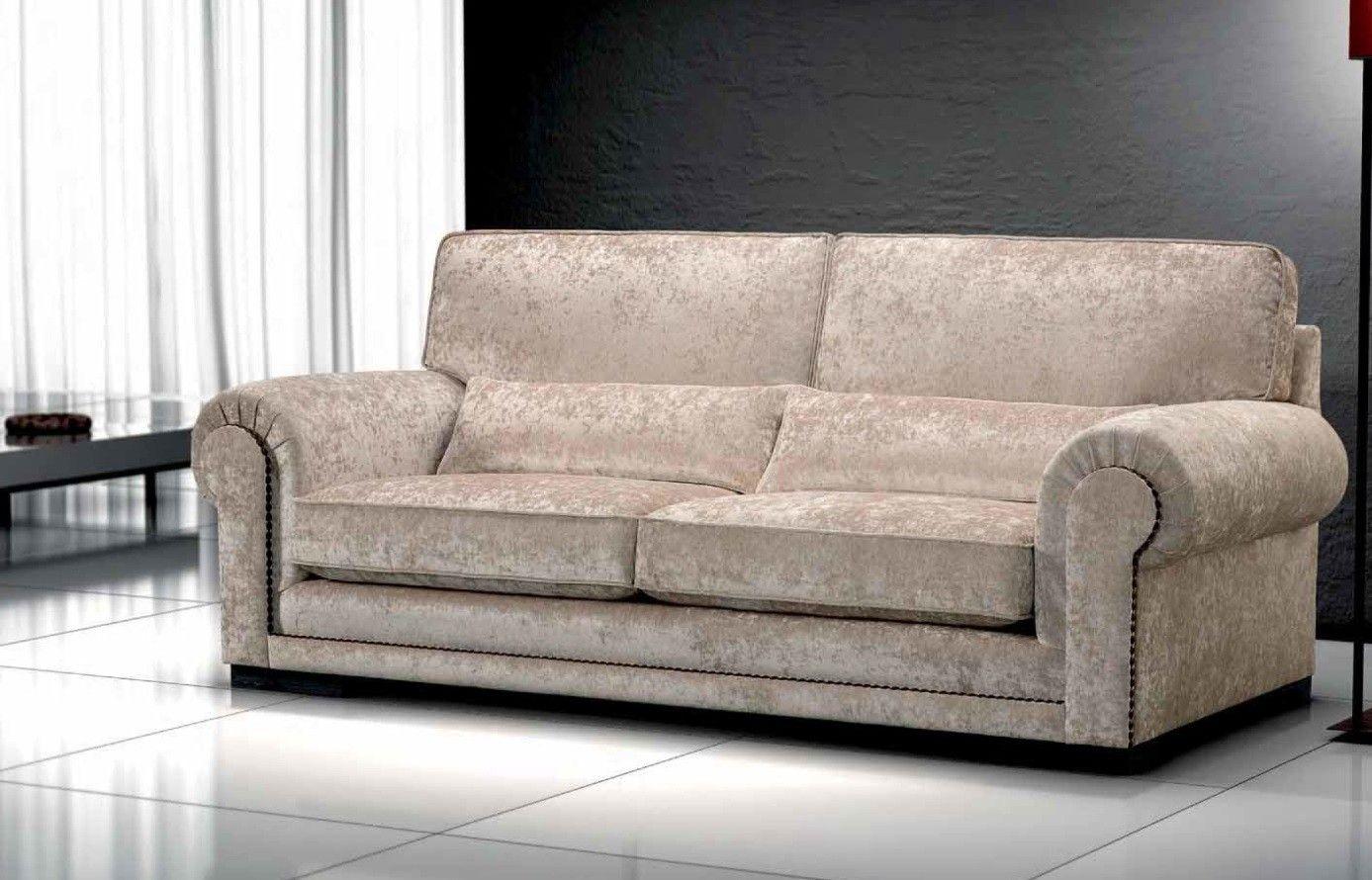 Sof Cl Sico 2 Plazas Mirador Ambar Muebles Deco Interiorismo  # Muebles Tapizados En Tela