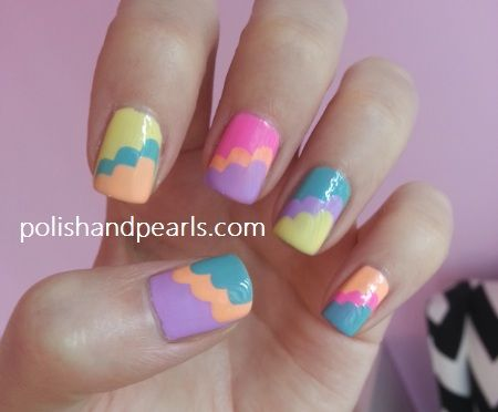 easy nail art for beginners paint your entire nail yellow