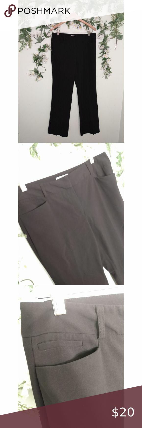 New York Company Black Dress Pants 8 Tall Black Dress Pants Dress Pants Black Dress [ 1740 x 580 Pixel ]