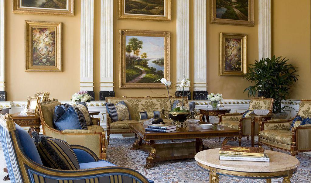 Upscale Interior Design  Vintage Interior Design Vintage Alluring Luxury Living Rooms Furniture Inspiration Design