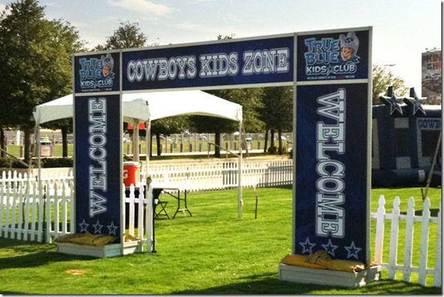 Texas Sized Tailgate Pregame Activities Expand In Cowboys Stadium Plazas Cowboys Stadium Cowboys Stadium