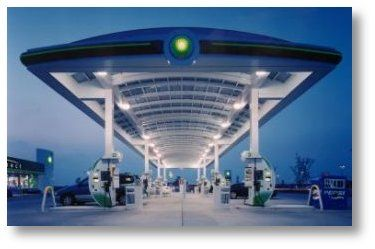 Bp Gas Station Solar Power Canopy System Solar Projects Solar Bp Gas