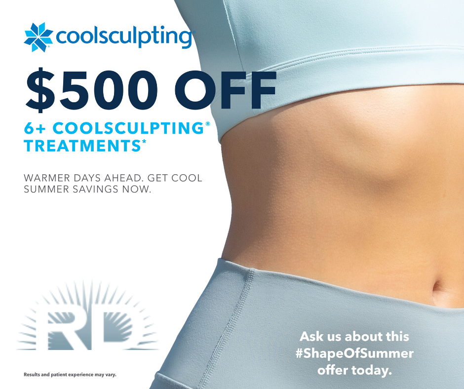 Start Summer Off Right With Coolsculpting S Shape Of Summer Campaign Enjoy 500 Off 6 Coolsculpting Cycles Wa Cool Sculpting Summer Campaign Summer Savings