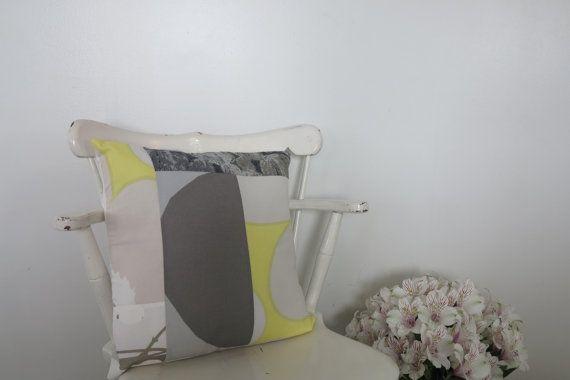 Marimekko fabric marimekko pillow mod throw pillow by Bonnevieshop