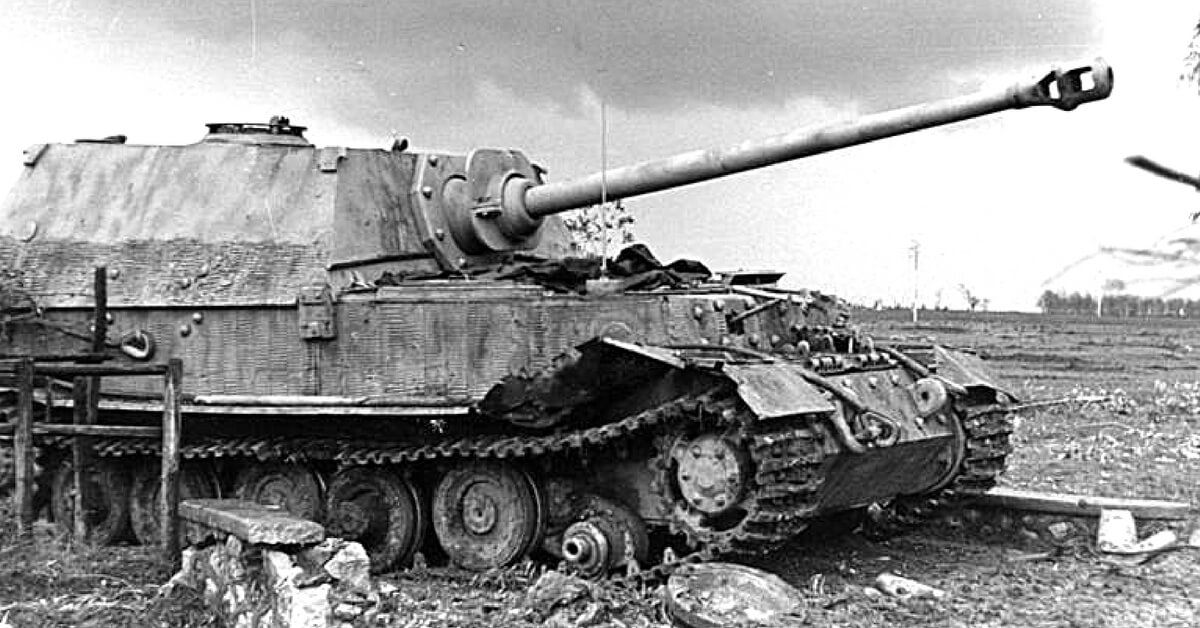 original ww2 footage massive 72 ton jagdtiger tanks surrender in