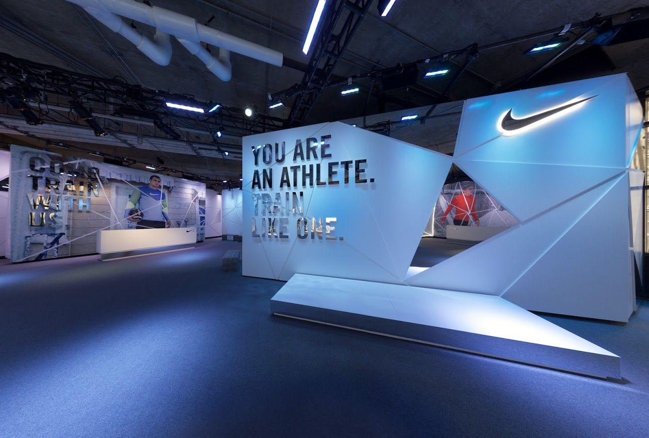 Nike Icebox Exhibition Stand Design Backdrop Design Retail Design