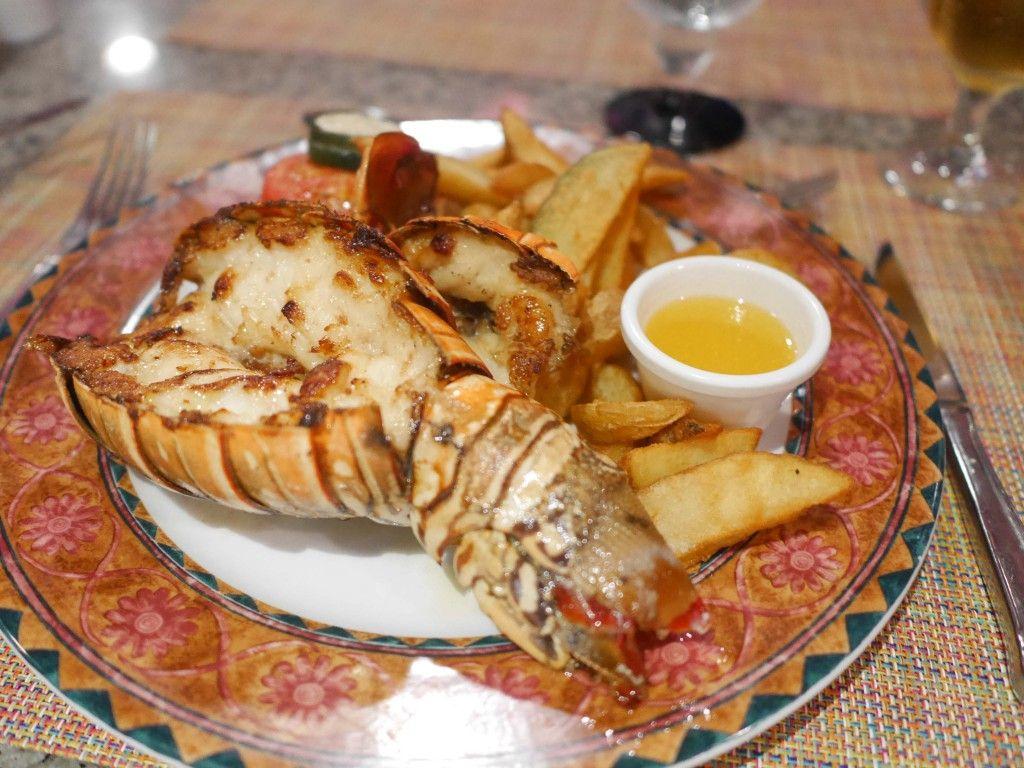 Hotel riu naiboa all inclusive hotel punta cana - Lobster At The Stake House At Riu Palace Bavaro All Inclusive Hotel In Punta Cana
