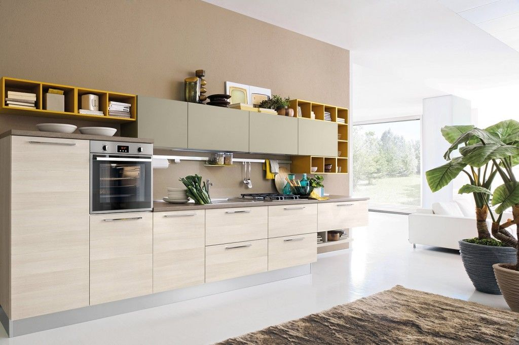 Nuove cucine: con un tocco di colore fluo | Pinterest | Cucine ...