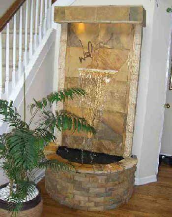 Fuentes interiores un accesorio relajante para una - Fuente decoracion interior ...