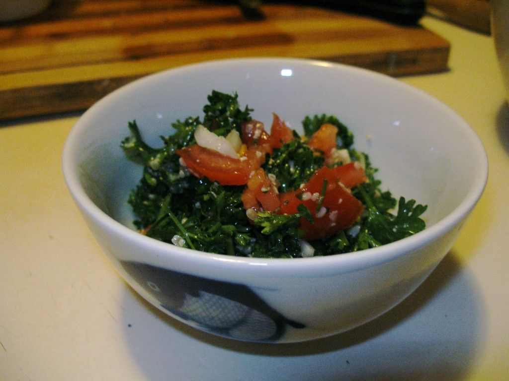 Try my Raw Beauty Tabouleh Salad recipe!