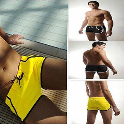 Mens Swimming Trunks Boxer Shorts Swimsuit Underwear Swimwear Beachwear Trunks…